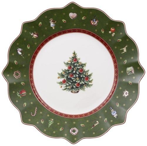 Villeroy Boch Assiette A Dessert Verte Toys Delight Decor Noel