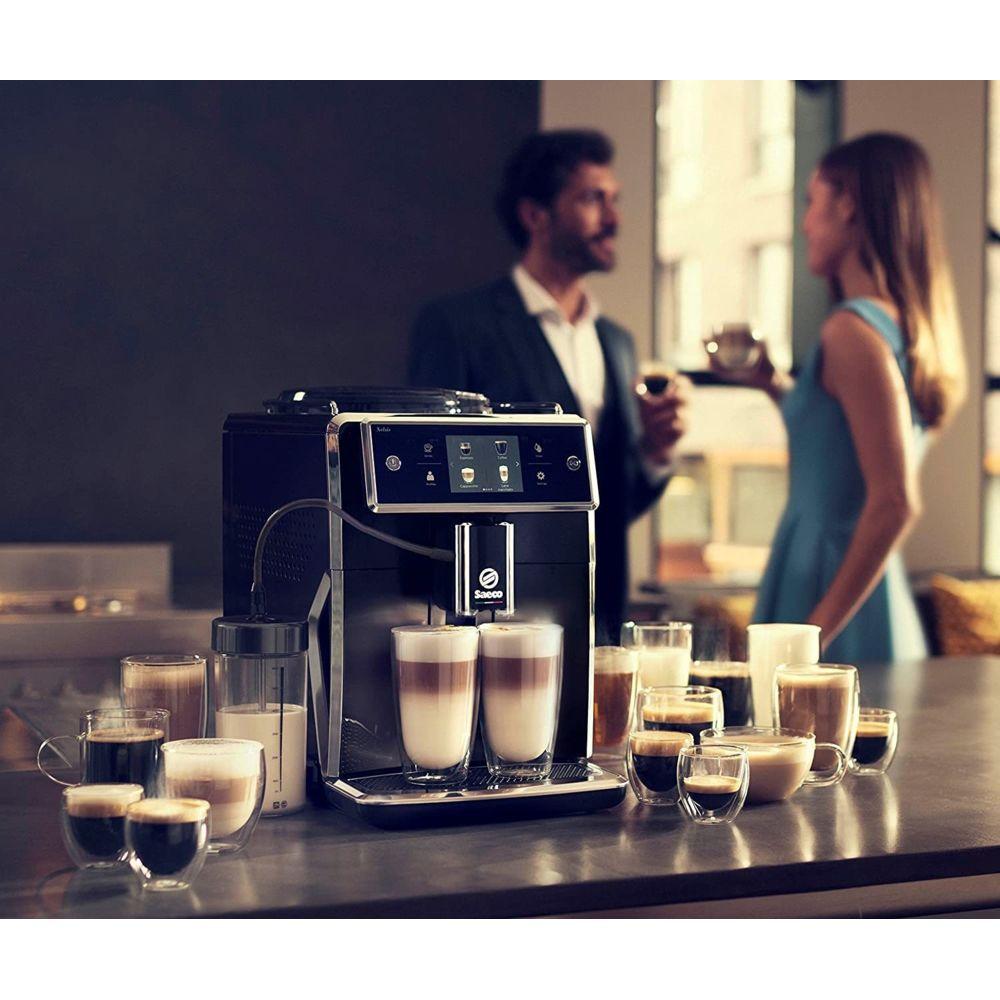 Philips Machine Espresso automatique de 1,7L avec écran tactile gris noir
