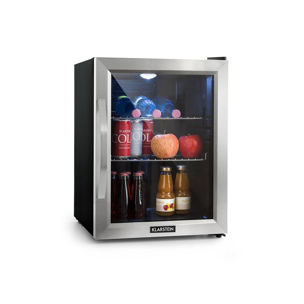 Klarstein Klarstein Beersafe M Réfrigérateur compact 35L LED porte vitrée classe A++ - noi Klarstein