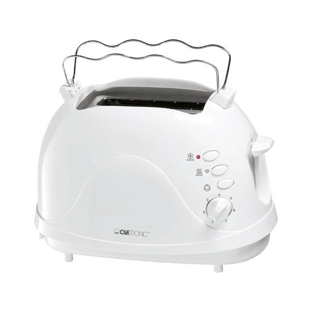 Clatronic Grille Pain Toaster 2 fentes blanc 700W Clatronic TA 3565
