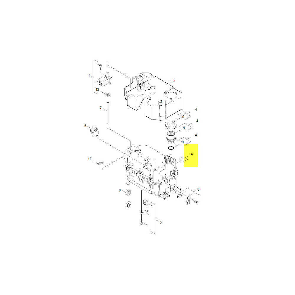 Karcher CUVE COMPLETE POUR PETIT ELECTROMENAGER KARCHER - 40704800