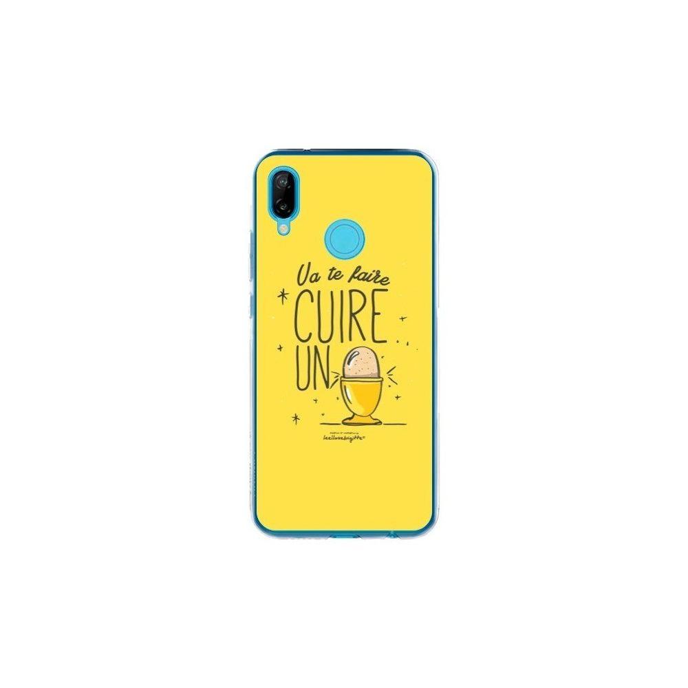 Apple - Coque Huawei P20 Lite Va te faire cuir un oeuf jaune - Leellouebrigitte