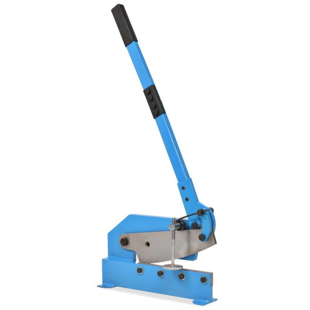 Vidaxl Cisaille à levier 300 mm Bleu - Outils - Outils de coupe - Coupe-barre |