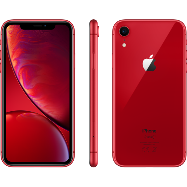 Apple - iPhone XR - 64 Go - MRY62ZD/A - PRODUCT RED - iPhone 4g+