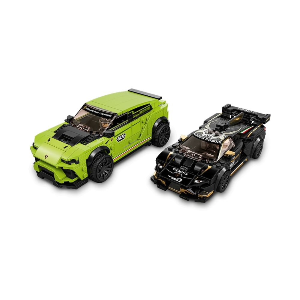 Lego 76899 Lamborghini Urus ST-X and Lamborghini Hurac n Super Trofeo EVO LEGO Speed Champions