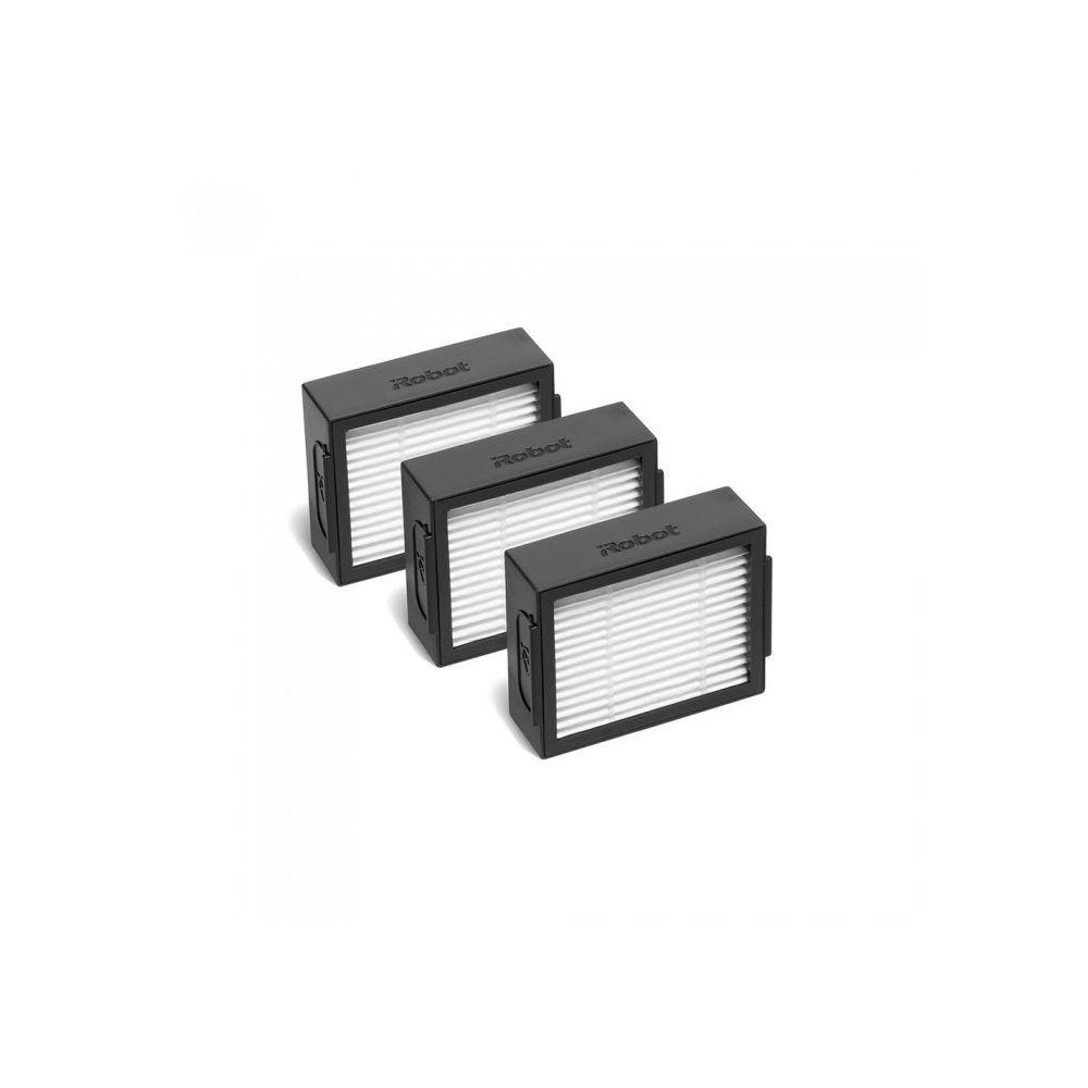 iRobot Pack de 3 filtres haute efficacité pour aspirateur robot roomba série e & i