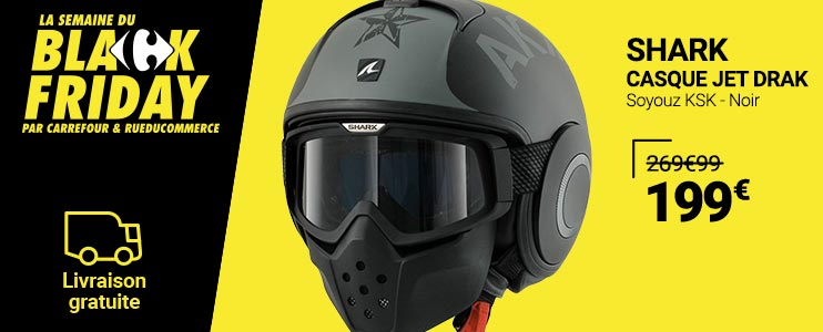 Casque Jet Drak - Shark