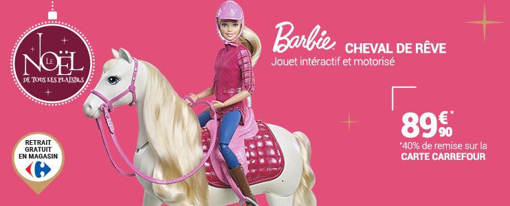 Jeux jouets achat jeux jouets pas cher rueducommerce - Jeux de barbie avec son cheval ...