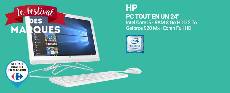 Pc achat ordinateur de bureau pas cher rueducommerce - Meilleur ordinateur de bureau tout en un ...