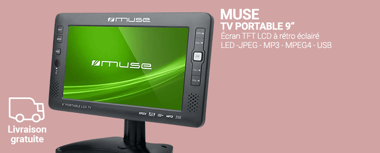 "TV Portable 9"" - Muse"