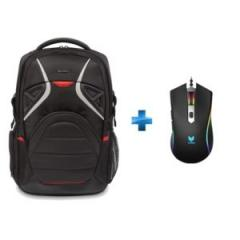 Pack Sac à dos gaming Strike 17,3'' + Souris gamer VPRO V280